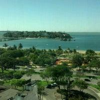 Photo taken at Radisson Hotel Vitória by Vitor G. on 6/4/2012