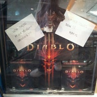 Photo taken at EB Games by Vickie on 4/26/2012