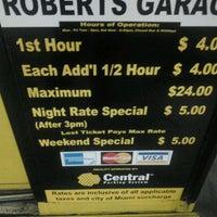 Photo taken at SP+ Parking @ Robert's Garage by Jose V. on 2/4/2012