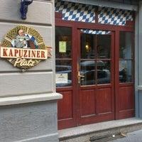Photo taken at Kapuziner Platz in der Stadt by Giovanni D. on 6/4/2012