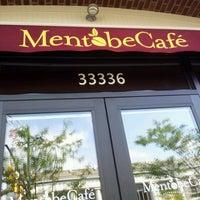 Photo taken at Mentobe Cafe by Kim on 6/16/2012