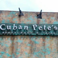Photo taken at Cuban Pete's by Marvin J. on 8/7/2012