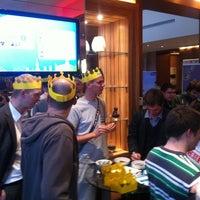 Photo taken at Link@Sheraton Café by Marek V. on 4/16/2012