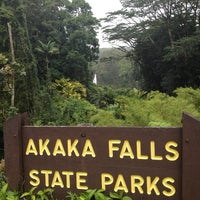 Photo taken at Akaka Falls State Park by Looper McNickelback on 4/15/2012