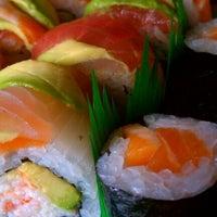 Photo taken at Cafe Sushi by David M. on 3/15/2012
