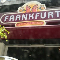 Photo taken at Frankfurt Salchichas & Cerveza by Norman M. on 4/13/2012