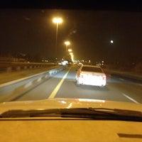 Photo taken at Al Khawaneej Road شارع الخوانيج by Abdulla B. on 6/7/2012