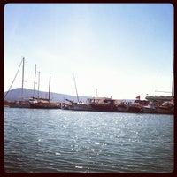Photo taken at Akkum Liman, Ozbek Koyu by Ozan T. on 6/7/2012