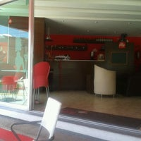Photo taken at Área Café by Gabriela b. on 4/25/2012