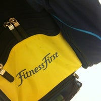Photo taken at Fitness First by Apple P. on 8/19/2012