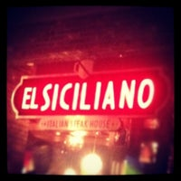 Photo taken at El Siciliano by Yuri G. on 9/1/2012