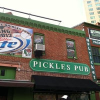 Photo taken at Pickles Pub by Laurie V. on 5/15/2012