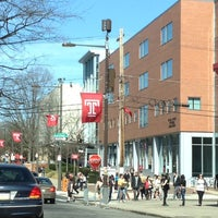 Photo taken at Temple University by Jorge L. on 3/14/2012