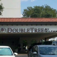 Photo taken at DoubleTree by Hilton Hotel San Antonio Airport by Jeff P. on 9/1/2012