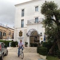 Photo taken at Ostuni Palace Hotel by Jan B. on 5/27/2012