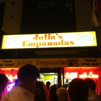 Photo taken at Julia's Empanadas by Truc N. on 6/23/2012