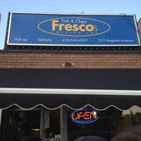 Photo taken at Fresco's Fish & Chips by RobbieG on 8/3/2012