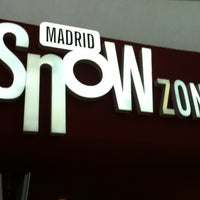 Photo taken at MadridSnowZone by Raul G. on 8/26/2012