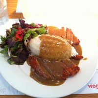 Photo taken at Wagamama by Mikey B on 6/11/2012