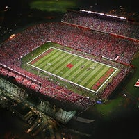 Photo taken at High Point Solutions Stadium by Mohak T. on 2/21/2012