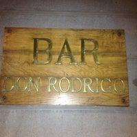 Photo taken at Bar Don Rodrigo by Mónica on 9/7/2012