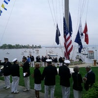 Photo taken at Larchmont Yacht Club by Albert W. on 5/5/2012