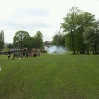 Photo taken at Hillsborough Park by Dani F. on 5/20/2012
