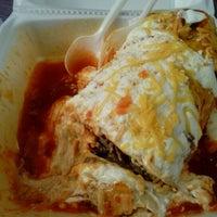 Photo taken at Los Jilbertos Taco Shop by Amie R. on 5/1/2012