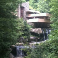 Photo taken at Fallingwater by Qlint C. on 7/8/2012