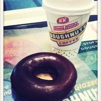 Photo taken at Krispy Kreme by ぽこにゃん on 2/22/2012