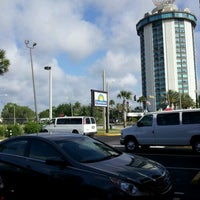 Photo taken at Days Inn Orlando International Drive by Juan Pablo A. on 4/6/2012