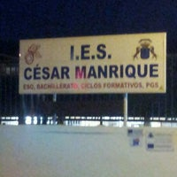 Photo taken at IES César Manrique by @xelso >> Jacob R. on 3/28/2012