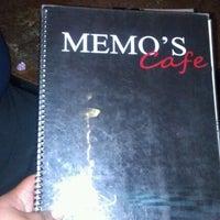 Photo taken at Memo's Café by Tela O. on 2/3/2012
