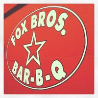 Photo taken at Fox Bros. Bar-B-Q by Gin H. on 4/19/2012