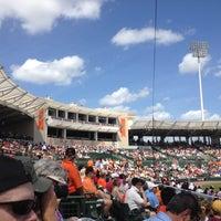 Photo taken at Ed Smith Stadium by Cari P. on 3/7/2012