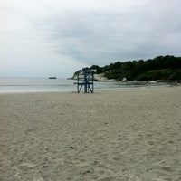 Photo taken at Sachuest Beach - Surfer's End by Priscilla P. on 8/18/2012