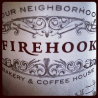 Photo taken at Firehook Bakery and Coffee House by Line S. on 4/16/2012
