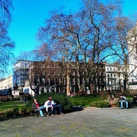 Photo taken at Bloomsbury Square by Righi T. on 2/23/2012