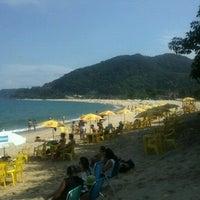 Photo taken at Praia de Boiçucanga by Ursula M. on 4/6/2012