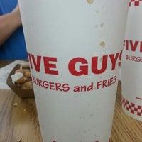 Photo taken at Five Guys by Ashlee B. on 8/19/2012