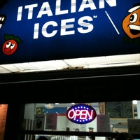 Photo taken at Ralph's Famous Italian Ices by Rich P. on 3/29/2012