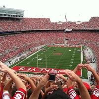 Photo taken at Ohio Stadium by Rhettest In Room on 9/1/2012