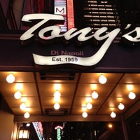 Photo taken at Tony's Di Napoli by Stephanie H. on 7/6/2012