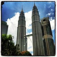 Photo taken at Kuala Lumpur City Centre (KLCC) Park by Sol B. on 9/7/2012