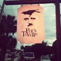 Photo taken at Poe's Tavern by Lucretia G. on 5/13/2012