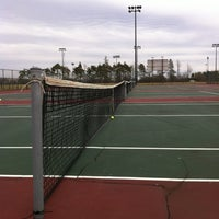 Photo taken at UB Alumni Arena Tennis Courts by Jan W. on 3/12/2012