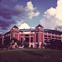 Photo taken at Globe Life Park in Arlington by Brandon E. on 7/15/2012