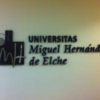 Photo taken at UMH Rectorado by Salvador C. on 7/30/2012