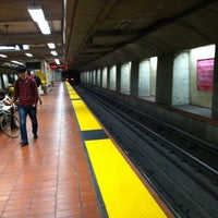 Photo taken at 24th St. Mission BART Station by Rosemarie M. on 3/30/2012