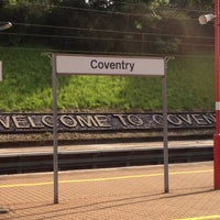 Photo taken at Coventry Railway Station (COV) by Marcin D. on 7/5/2012